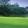 A view of a green with water coming into play at Glenview Golf Course